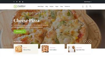 Cookiteer - Food  Recipe WordPress Theme