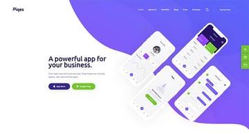 Piqes  Creative Startup  Agency WordPress Theme