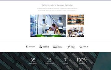 Fintech - Startup WordPress Theme