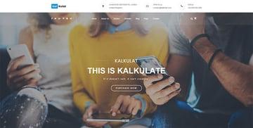 Kalkulat - Multipurpose Startup WordPress Theme