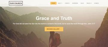 Our Church - WordPress Churches Theme
