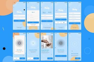 Chatty Mobile UI Kit