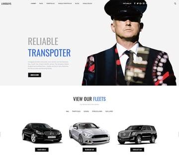 Limo guys  Creative WordPress theme for Car Rental and Limo Service