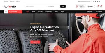 Autovio - Car Accessories WooCommerce Theme