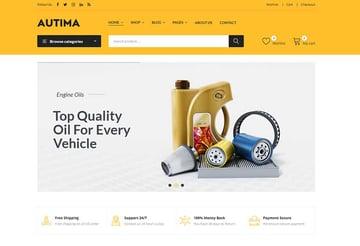 Autima - Car Accessories Theme for WooCommerce WordPress