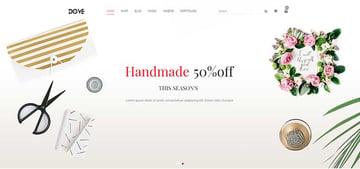 Dove | Handmade Crafts WooCommerce WordPress Theme