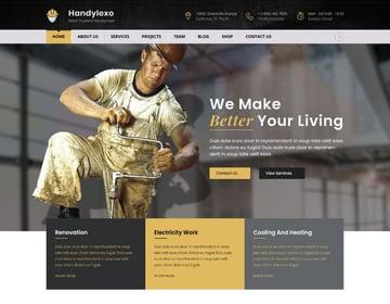 Handylexo | Handyman Repairing WordPress Theme