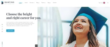 Banting University - Educational Site Template