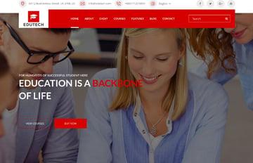 EDUTECH - Education, Course, Event & University Template