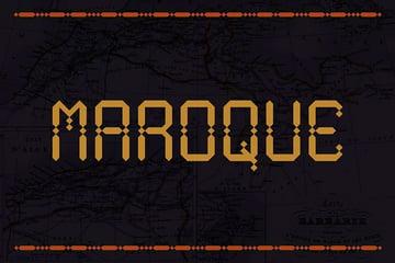 Maroque: Modern Arabic Font (OTF, TTF)