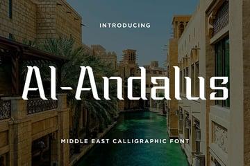Al-Andalus: Arabic Style Font