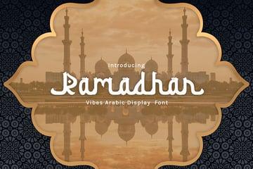 Ramadhan: Modern Arabic Font (OTF, TTF, WOFF)