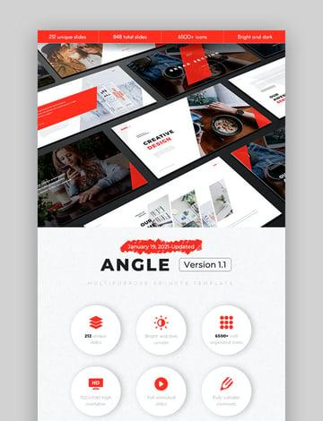 Angle Multipurpose Keynote Slides
