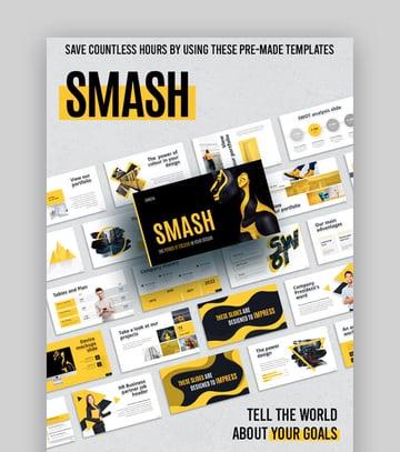 Smash Keynote-Vorlage