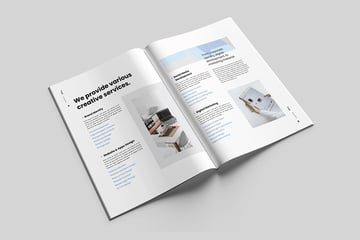 Proposal business booklet template