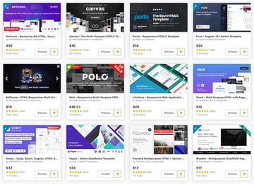 HTML5 website templates
