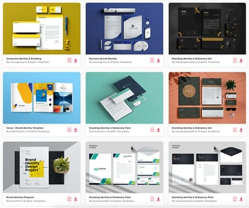 Here are some of the best corporate identity packages on Envato Elements for 2021.
