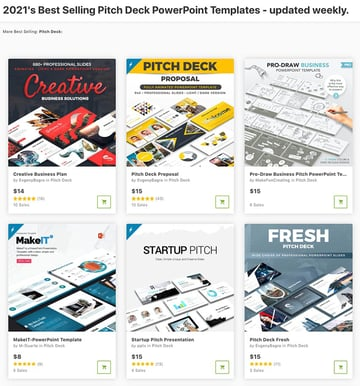 Choose a business pitch PowerPoint template and pay-as-you-go with GraphicRiver.
