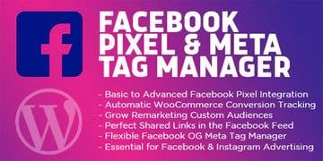 Facebook Pixel WordPress Plugin