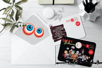 Halloween Invitation Template (PSD)