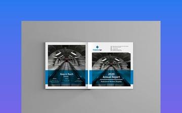 Square Annual Report Brochure Template