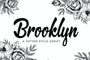 Brooklyn Tattoo Script Font
