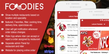 Restaurant Food Delivery & Ordering System - iOS
