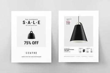 Sales InDesign Flyer Template
