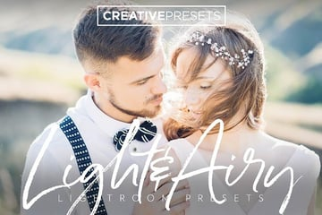 Light and Airy Lightroom Presets Pack