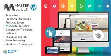 Master Slider - Plugin de slider para WordPress con capas táctiles