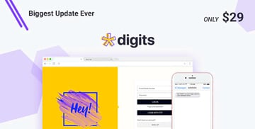 Digits - WordPress Mobile Number Signup and Login