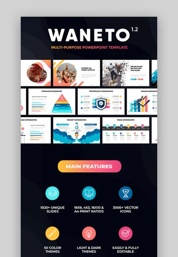 Waneto-Multi-Purpose PowerPoint Template