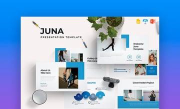 Juna - Presentation Template
