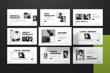 Verminis is one of the best PowerPoint templates for creative presentations.
