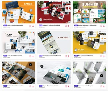 Best presentation templates to use in 2021 (New on Envato Elements).