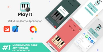 Play It - iOS Minimal Xcode Game Template