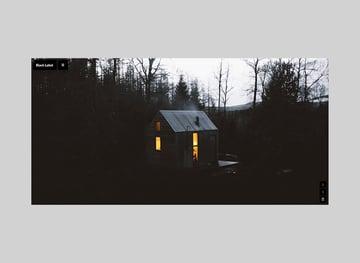 Black Label - Fullscreen Video & Image Background Theme