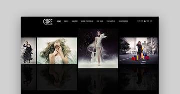 Core WordPress Photography Theme