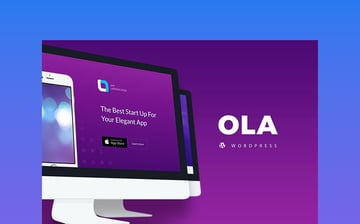 Ola - Multipurpose App WordPress Landing Page Theme
