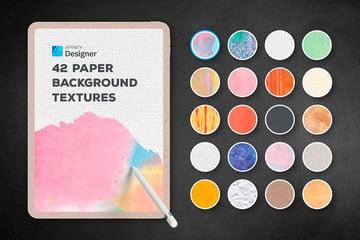 Affinity Designer Background Paper Textures (AFDESIGN, JPG)