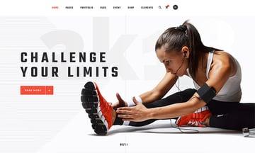 Prowess - WordPress fitness theme