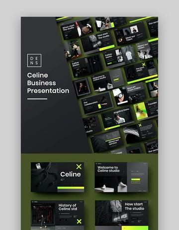 Celin - Business Google Slides Template