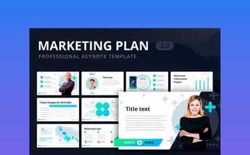 Marketing Plan 2.0 for Keynote