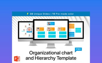 Organizational Chart and Hierarchy Template