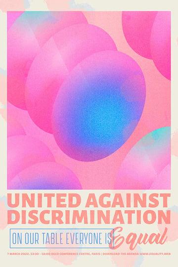 Retro Fundraising Poster Design