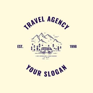 Logo Maker for Wilderness Travel Agency
