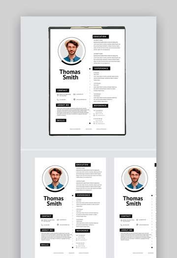 Minimalist Modern Resume Format