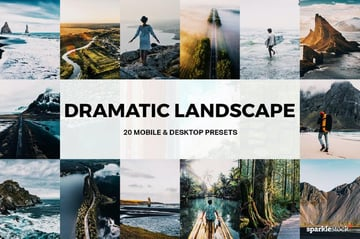 20 Dramatic Lightroom Landscape Presets