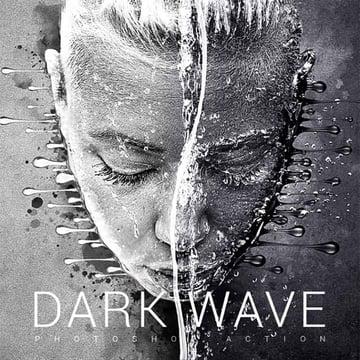 Dark Wave Photoshop Action