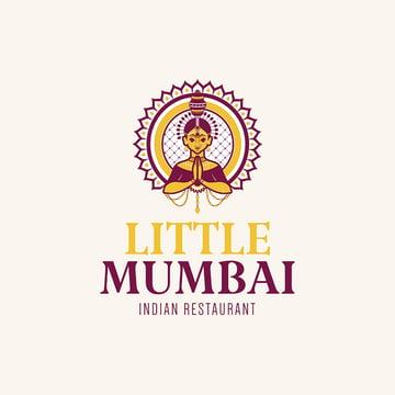 Elegant Indian Restaurant Logo